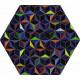 Tableau hexagonal mural DIS-2
