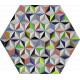 Tableau hexagonal mural AIS-2