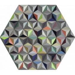 Tableau hexagonal mural FIS 2