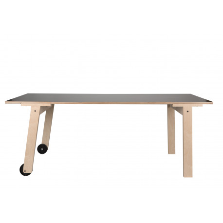 Table Flat A Roulettes Rform