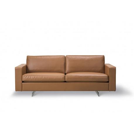 Canapé 2 places Risom 65 pieds métal