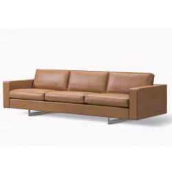 Canapé 3 places Risom 65 pieds métal