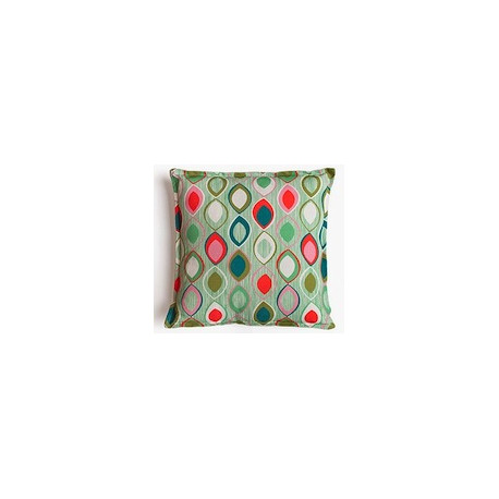 Coussin Peacock Mademoiselle Dimanche