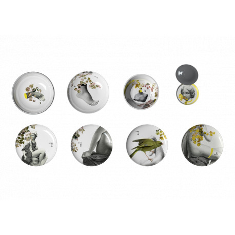 Ensemble de vaisselle Yuan Parnasse IBRIDE