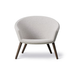 Fauteuil Lounge Ditzel FREDERICIA
