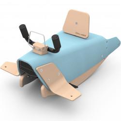 Bascule avion 2 en 1 pour enfant CHOU DU VOLANT