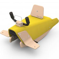Bascule porteur et draisienne avion 5 en 1 CHOU DU VOLANT