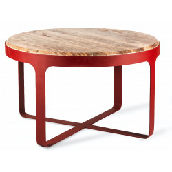 Table basse Stoner Red POLS POTTEN