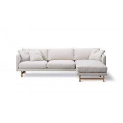 Canapé 3 places + méridienne Calmo 80 pieds bois FREDERICIA