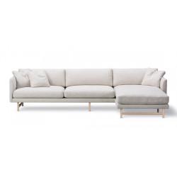 Canapé 3 places + méridienne Calmo 95 pieds bois FREDERICIA