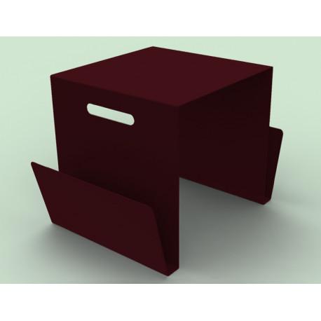 Table basse range-revues Solano MATIERE GRISE