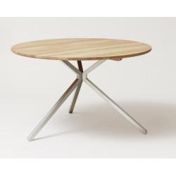 Table Frisbee chêne huilé blanchi
