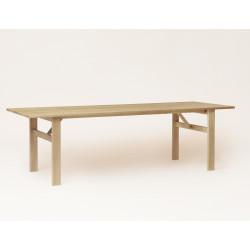 Table extensible Damsbo chêne huilé blanchi