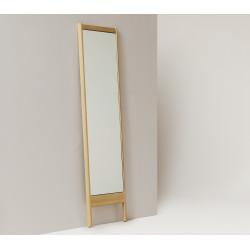 Miroir A line chêne huilé