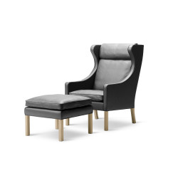 Fauteuil 2204 Wing Chair FREDERICIA