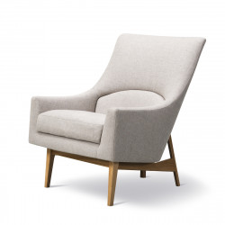 Fauteuil A-Chair Pieds bois FREDERICIA